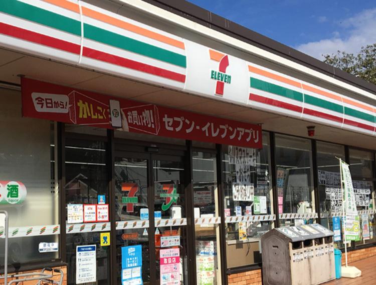 せ_セブンイレブン横須賀北久里浜店-外観